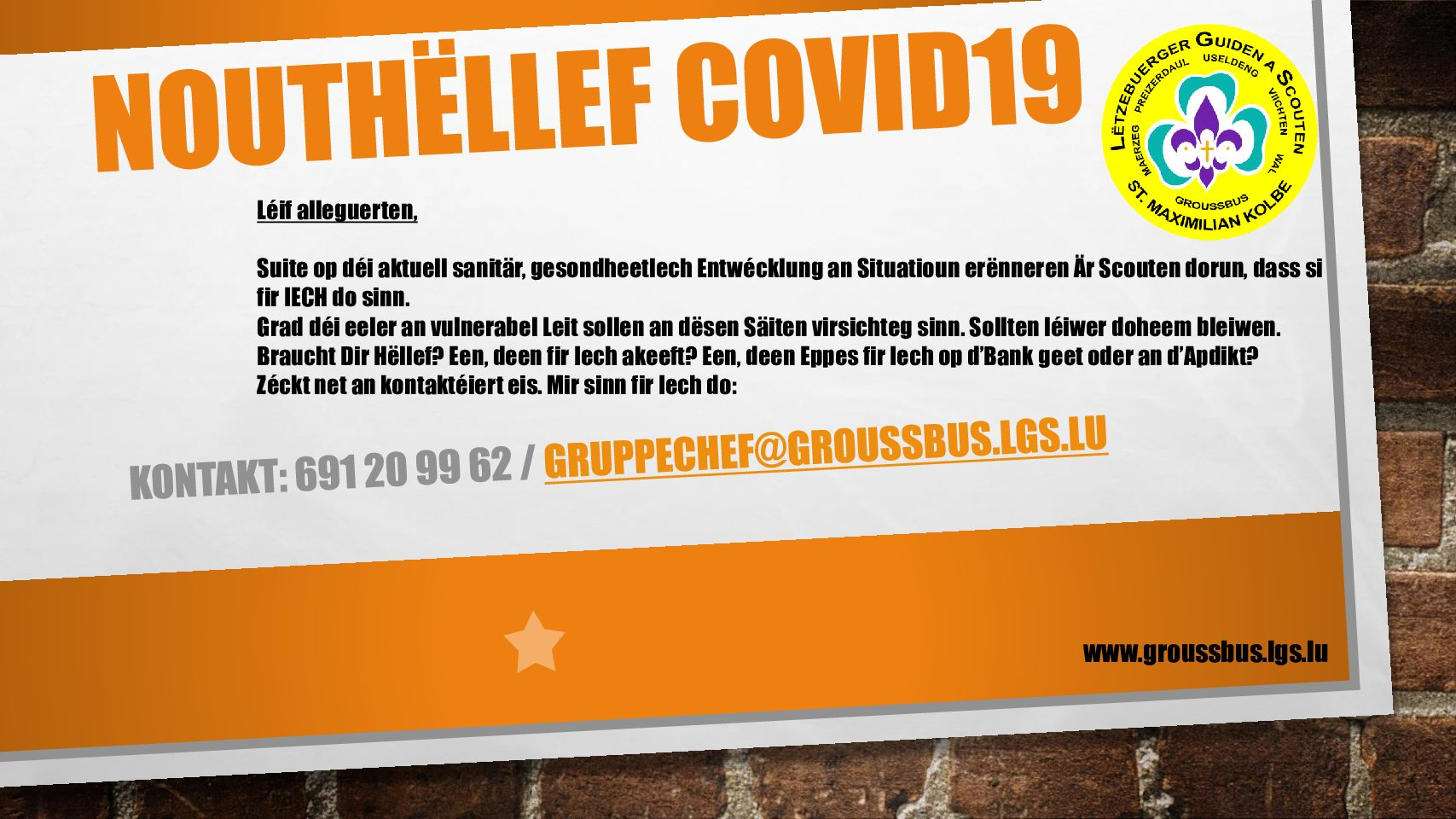 Nouthëllef Covid19