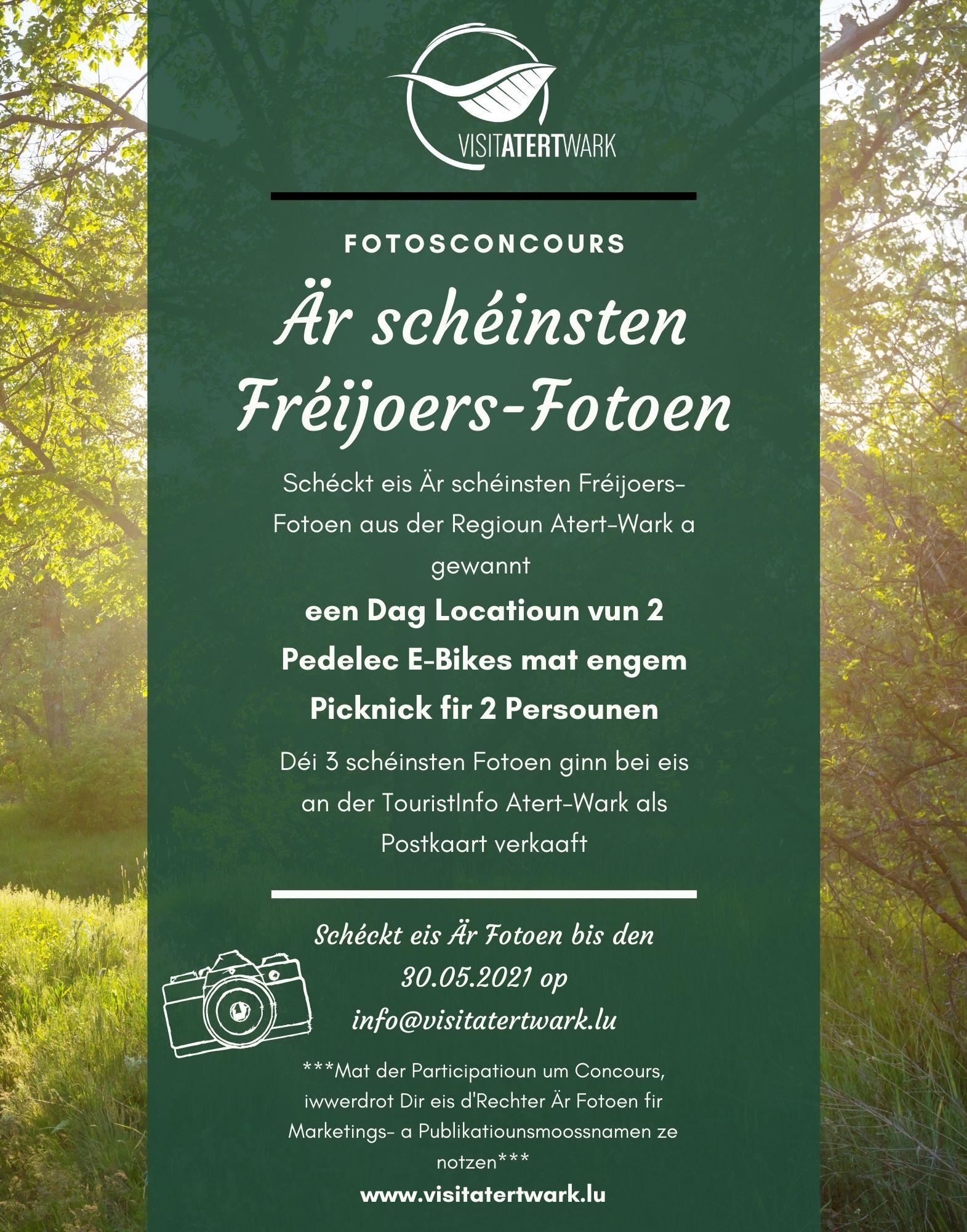 Fotosconcours - Är schéinsten Fréijoers-Fotoen